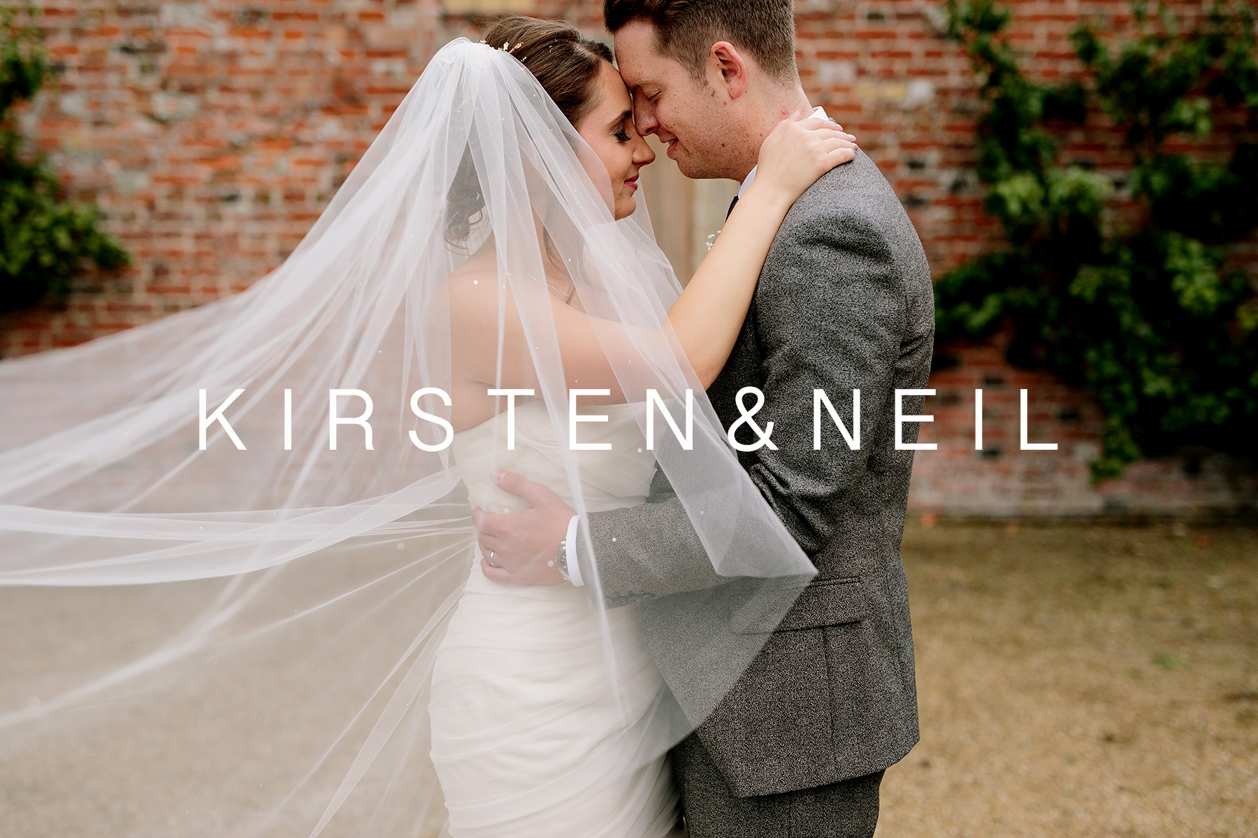 Kirsten & Neil - Charlton House Wedding Photos
