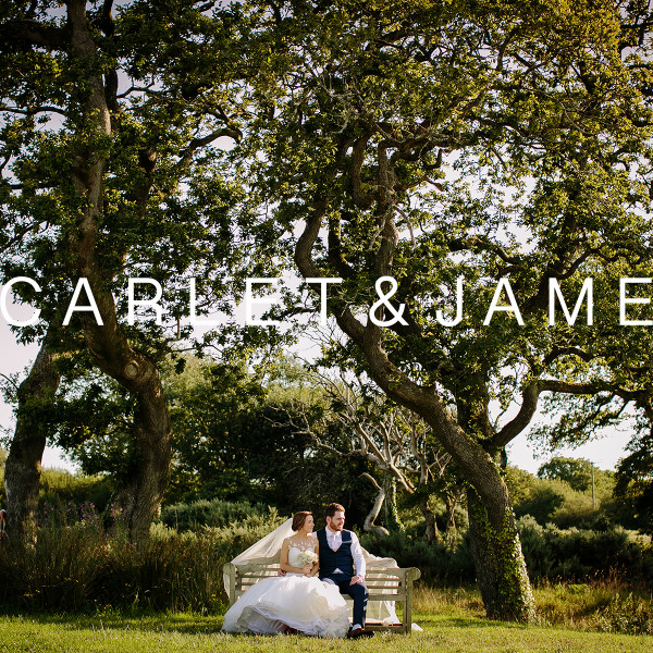 Scarlett & James - Oldwalls Wedding Photos